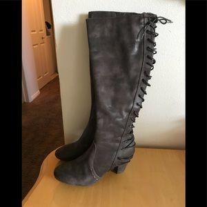 Women's Report lace up boots size 9
